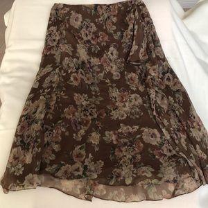Lauren Ralph Lauren pure silk skirt